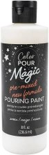Color Pour Magic Paint, 8oz- Snow