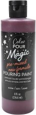 Color Pour Magic Paint, 8oz- Wine