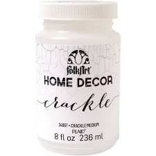 FolkArt Home Decor Crackle Medium 8 oz