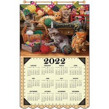 2022 Felt & Sequin Calendar Kit- Craft Room