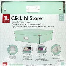 """Click 'N Store Storage Box, Mint-  8""""x13.5""""x6.5"""""""