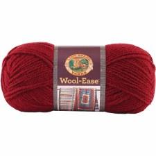 Wool Ease Yarn- Cranberry