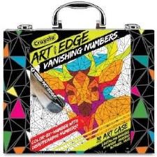 Crayola Art Edge Art Kit- Vanishing Numbers