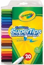 Crayola SuperTips Markers, 20ct