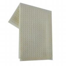 "Waffle Weave 20""x28"" Tea Towel- Cream"