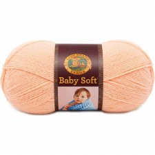 Baby Soft Yarn- Creamsicle