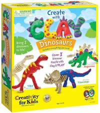 Creativity for Kids Craft Kit- Clay Dinosaurs