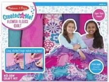 Melissa & Doug Created by Me Kit- Flower Fleece Quilt