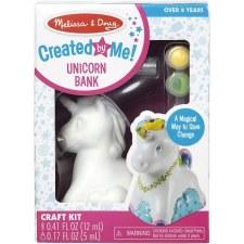 Melissa & Doug Created by Me Craft Kit- Unicorn Bank