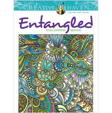 Creative Haven Adult Coloring Book- Entangled