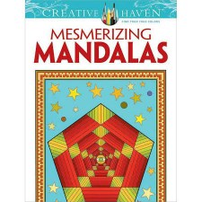 Creative Haven Adult Coloring Book- Mesmerizing Mandalas
