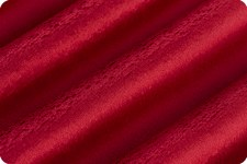 "Cuddle Fleece, 60""- Reds- Crimson"