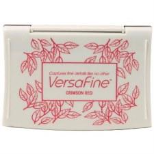VersaFine Pigment Ink Pad- Crimson Red
