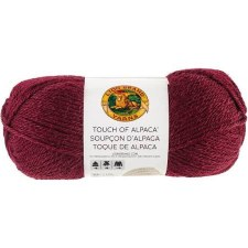 Touch of Alpaca Yarn- Crimson