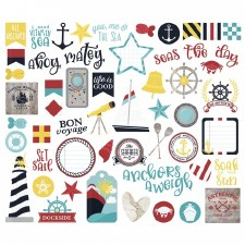 Cruisin' Bits & Pieces Die Cuts