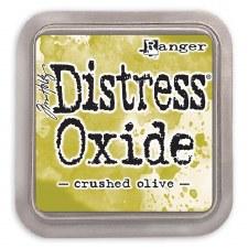 Tim Holtz Distress Oxide- Crushed Olive Ink Pad