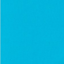 "Kona Cotton 44"" Fabric- Blues- Cyan"