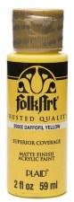 FolkArt 2 Oz. Acrylic Paint- Daffodil Yellow