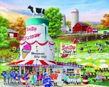 Dairy Barn - 1,000 Piece Puzzle