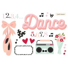Simple Pages: Page Pieces Die Cuts- Dance