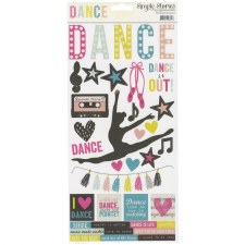 Dance 6x12 Sticker