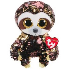 Beanie Flippable Sequins Collection- Dangler the Sloth