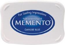 Memento Dye Ink Pad- Danube Blue