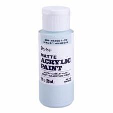 Matte Acrylic Paint, 2oz- Robin's Egg Blue