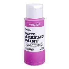 Matte Acrylic Paint, 2oz- Bright Pink