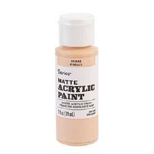 Matte Acrylic Paint, 2oz- Coral