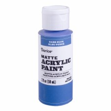 Matte Acrylic Paint, 2oz- Dark Blue