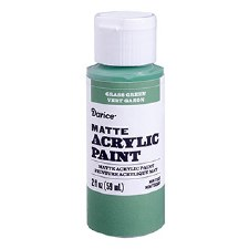 Matte Acrylic Paint, 2oz- Grass Green