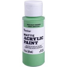 Matte Acrylic Paint, 2oz- Holiday Green
