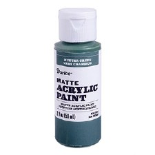 Matte Acrylic Paint, 2oz- Hunter Green