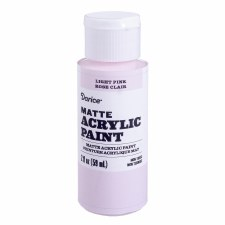 Matte Acrylic Paint, 2oz- Light Pink