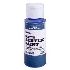 Matte Acrylic Paint, 2oz- Navy