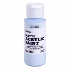 Matte Acrylic Paint, 2oz- Pale Blue