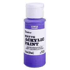 Matte Acrylic Paint, 2oz- Purple