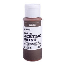 Satin Acrylic Paint, 2oz- Espresso