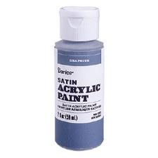 Satin Acrylic Paint, 2oz- Graphite