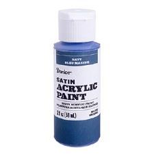 Satin Acrylic Paint, 2oz- Navy