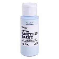 Satin Acrylic Paint, 2oz- Pale Blue