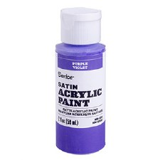Satin Acrylic Paint, 2oz- Purple