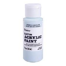 Satin Acrylic Paint, 2oz- Robin's Egg Blue