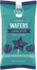Make 'n Mold Candy Wafers- Vanilla, Dark Blue