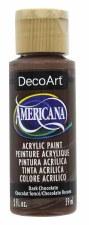 Americana Acrylic Paint, 2oz- Browns: Dark Chocolate