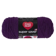 Red Heart Super Saver Yarn- Dark Orchid