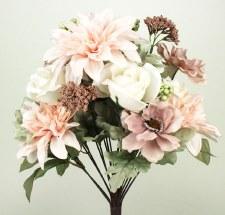 Gather by Nicole Floral Bush- Dahlia & Rose, Pink & Mauve