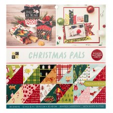 12x12 DCWV Paper Stack- Christmas Pals