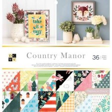 12x12 DCWV Paper Stack- Country Manor